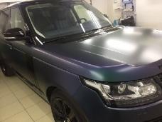 Изменение цвета автомобиля Land Rover пленка SunTek™_ MATTE (Матовая) USA