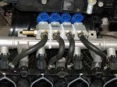 Переоборудование авто на газ.
